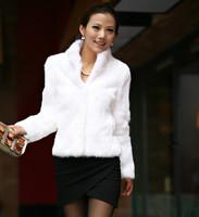 New 2014 Fahion Faux fur coat fur vest autumn new arrival sweater vest short design women's big size S-XXXXL  Free shipping E 81