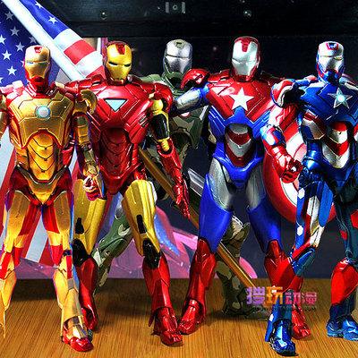 1 PCS/LOT Marvel Super Heroes Iron Man 3 Action Figure Toys Tony Mark 42 PVC Superhero Toy 7*18cm Christmas Gift brinquedos boys(China (Mainland))