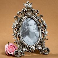 European classical photo frames 6 inch photo frame resin flower crazes