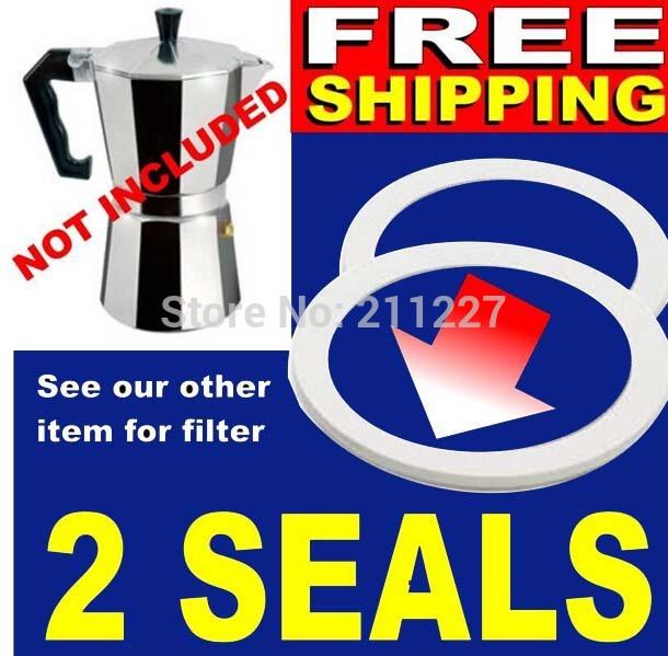 Moka Pot Gasket 6 Cup Moka Pot Silicone Seals