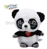"Yoohoo&Friends Korean Style Big Eye Cute Stuffed Plush Giant Panda Toy- Ringring (8""),Classic Toys,Gift for Children,Good Fabric"