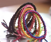 10pcs/lot Colorful Twist Knotted Hair Holders High Qaulity Rubber Bands Hair Accessories Girl Women Charms Tie Gum (Mix Color)