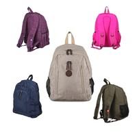 2014 New Shoulder Computer Backpack Schoolbag for Women Unisex 5 Colors Washed Material Backpack#HC101~HC105