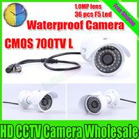 New 700TVL 36 IR CMOS color outdoor waterproof cctv camera security surveillance Equipment Security cctv camera Free Shipping