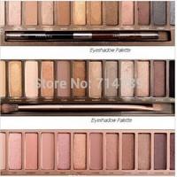 NAKE 3 pcs 12 colors Eye shadow  Decay Makeup Eyeshadow naked Palette 1 2 3, NK cosmetic eye shadow case. 3 pcs/ lot
