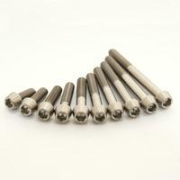 M6 Titanium Bolts Taper / cone head M6X15 16 18 20 25 30 35 40 45 50 55 60mm Ti 5mm Allen