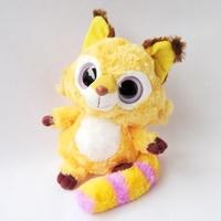 "Small size - Yoohoo Friends Stuffed Plush Iberian lynx toy - 5"" Libby, Lenny,Fabrics Stuffed big eyes soft Toy,baby doll"