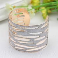 #431 Fashion Hollow Out Frosted Bracelet Wholesale 10pcs/lot Women Open Metal Bangle Free Shipping