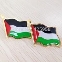 Palestine country flag national flag badge pin save gaza badge pin
