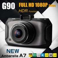 "Ambarella A7 Mini Car Camera DVR Recorder G90 2.7"" LCD 1080P Full HD HDR 170 Wide Angle G-sensor Night Vision 13MP Photo SOS"