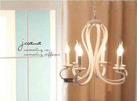 2014 European Pastoral Crystal Lamp Modern Chandelier Lighting  Restaurant Bedroom Lron Lighting Candle Shaped Lights ds-062