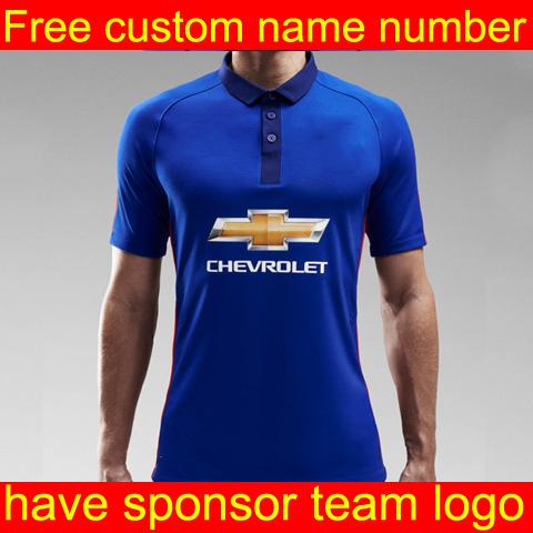 soccer jersey 14 15 women MATA Rooney Van v. Persie Giggs Soccer Jersey Manchest Home Away Football Kit short(China (Mainland))