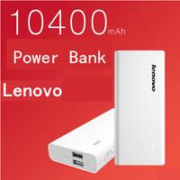 New Arrival Free Shipping Original Lenovo Power Bank 10400mAH xiaoxin Power Bank Portable Powerbank Charger For xiaomi Lenovo