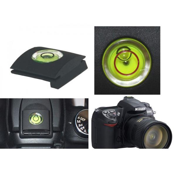 2014 Bubble Spirit Level Gradienter Tester Hot Shoe Cover Protector for Nikon DSLR Camera(China (Mainland))