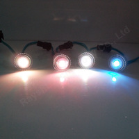 Colorful digital light 20pcs/lot 16mm ws2811 led point light rgb module dc5v led string