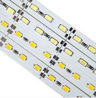 1M 72 led 5630 bar light Warm white / pure white / red / blue / green DC12V non-waterproof wholesale LED Rigid strips