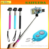 Free shipping New Wireless Bluetooth Self Portrait Extendable Monopod for IOS Android Phone Jecksion
