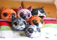 Cute Big Cat Shape Pillow Cushion Soft Plush Toy Doll Sofa Decoration  Drop Shipping