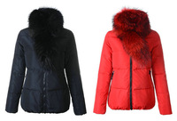 free shipping high quality slim thick down jackets for woman  Lievre