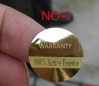 diameter 3 cm , gold sticker label wtih custom lables  ,warranty new brand ! versatile ! can be used everywhere