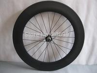 Ultralight carbon wheelset 700c /3K matte 88mm road bike carbon tubular wheelset with 25mm width, U shape!!!