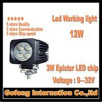 1PCS/LOT hot sales DC10-30V IP6712W led work light spot beam Offroad Truck epistar 3w ship working lamp free shipping
