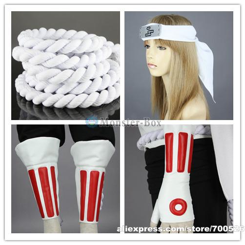 Naruto Killer Bee Cosplay Costume Headband Shoes Mens Ninja Whole Set Cool Halloween Outfit Male Adult