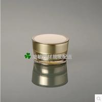 FB 15G Gold acrylic cone- shape cream JAR,Cosmetic Jar,cosmetic container,Cosmetic Packaging