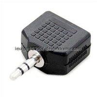 Audio Splitter jack 3.5mm stereo audio cable 2 audio splitter for Mobile Phone headphone speaker