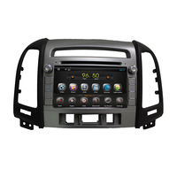 KD7027 Car DVD Navigation  for HYUNDAI  SANTA FE, pure Android 4.2 ,7 inch screen,Dual core 1G/8G