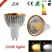 2pcs/lot PAR20 COB Chips GU10  E27 MR16 B22  9W / 15W Dimmable High Power Led light Led  Lamp  Spotlight Free Shipping