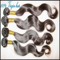 "7a unprocessed virgin peruvian body wave hair human weave Soft&Silky texture #1b 4pcs/ lot 12""-28"