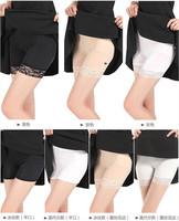 Fashion Women Lady Flat Mouth Pants Safety Shorts Leggings Yoga Seamless Basic Plain sport casual fitness leggings jeggings