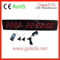 New digital Ganxin GI9T-1.8R  digital wall stopwatch