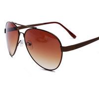 2014 hot selling oval women sunglasses designer fashion alloy glasses for women