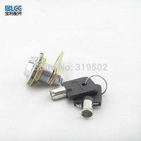 17MM Keyed alike Tubular Cam lock For Game Machine (one lock one key)