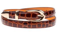 Woman High quality PU Cowskin belt Fashion Belts for women Alloy buckle Brand designer 6 Colors Cintos Cinturon N275 New arrival