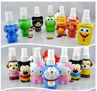 New ! 5pcs  cartoon shaped cosmetic spray travel bottles 45ml/pcs