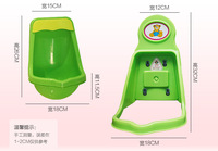 2014 FREE SHIPPING Kid Recommended High Quality Large Size Plastic Urinals for Boy and Wall-hung Urinal