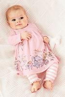 5set/lot wholesale long sleeve prints sets gril kids t-shirt pants 2pcs cute princess children clothes sets full sleeve