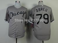accept drop shipp. stitched cheap Chicago White Sox 79 Jose Abreu Baseball Jersey Jose Abreu baseball shirt