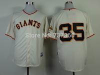 accept drop shipp. stitched cheap SF/San Francisco Giants #35 Brandon Crawford Baseball Jersey Crawford baseball shirt