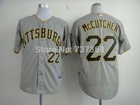 2014 new stitched cheap Pittsburgh Pirates #22 Andrew McCutchen Baseball Jersey McCutchen baseball shirt