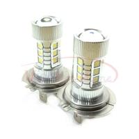 H7 High Power 80W Fog Light Headlight Driving Daytime Running Light 6000K Samsung LED Chip Lamp Xenon White DC 12V-24V 2pcs/lot