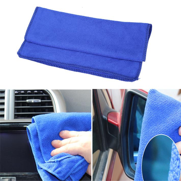 Free Shipping 2X Car Wash Microfiber Car Cleaning Towel Car Styling Microfibre Detailing Polishing Scrubing Waxing Cloth Hand(China (Mainland))