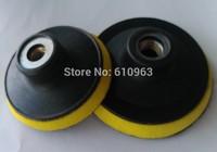 """4""""Foam flexible backer pads/backer with thread M14 or 5/8""""-11"""