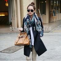 Free shipping 2014 fashion  Women's/Ladies Big plaid  Scarf Wrap Shawl Stole