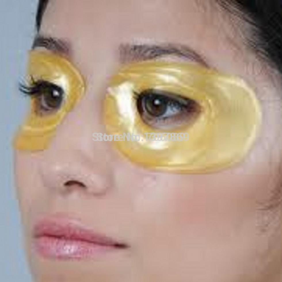 5 пар / пакеты популярная 24 К темно удаление золотой глаз ...