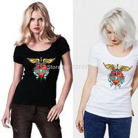 Hot Sale Bon Jovi Women T Shirts Cotton O Neck Short Sleeve Women Shirt Wholesale Free Shipping