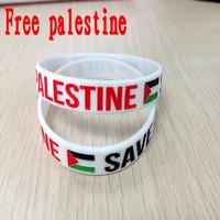 palestine gaza bracelet  wholesale palestine flag silicone bracelet palestine bracelet
